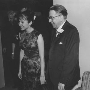 Judith Wechsler, 1963, Nahum Glatzer's 60th birthday celebration
