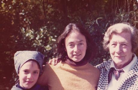 Judith Wechsler, Anne Glatzer, Josie and Judith Wechsler