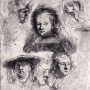 Portrait of Rembrant